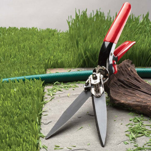 Grass Trimming Shears WITH 90-DEGREE ROTATING HANDLE