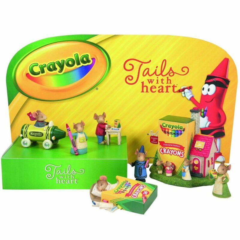 Tails with Heart Crayola Crayon Mice Mouse set 406275