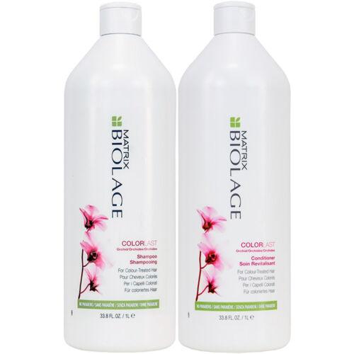 Matrix Biolage Color Last Shampoo & Conditioner 33.8oz / Liter  Duo Set