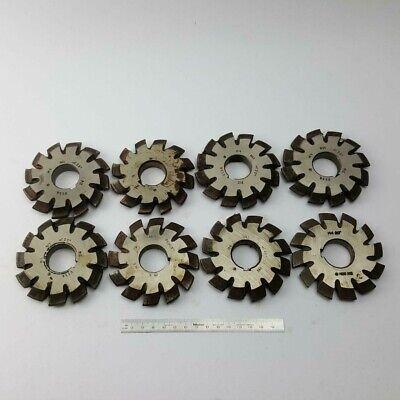 Involute Gear Cutter Set M4 Pa20 Hss 1-8 Bevel Spline Modulfrser Satz