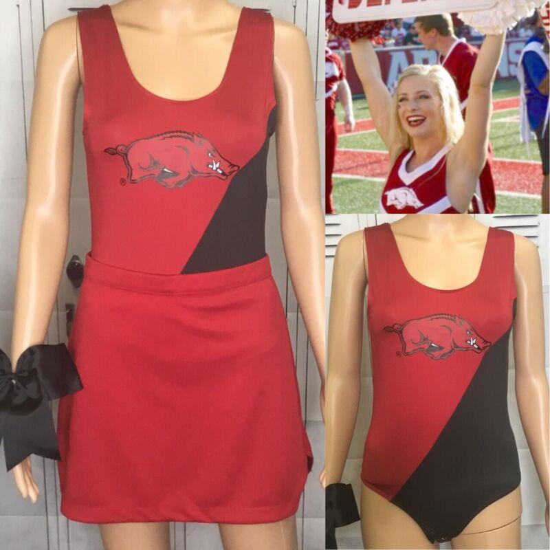 Cheerleading Uniform Arkansas Razorbacks Adult Med