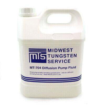 Mt-704 Diffusion Pump Oil - One Gallon High Vacuum Dow Corning Equivalent