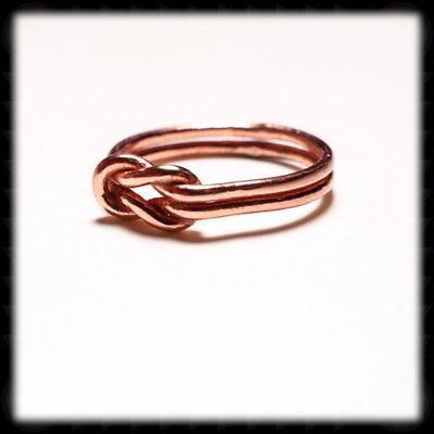 Knot Ring (Copper Love Knot Ring)