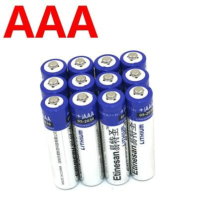 12 x Etinesan Lithium AAA Ultimate batteries 1.5V L92 EXP:2030 or