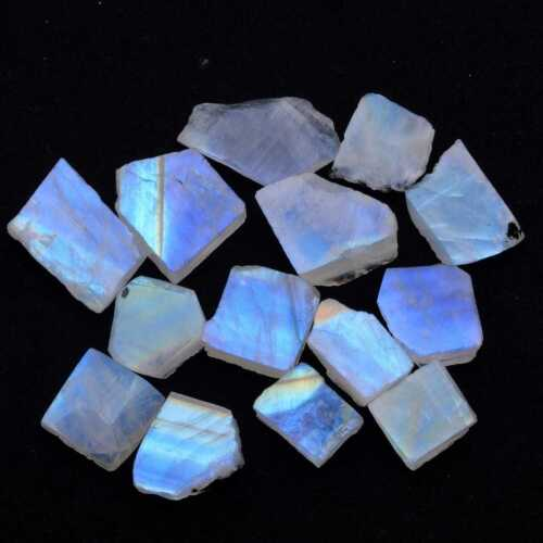 ROUGH NATURAL 175 Cts Moonstone Rough Loose Gemstone Free Size