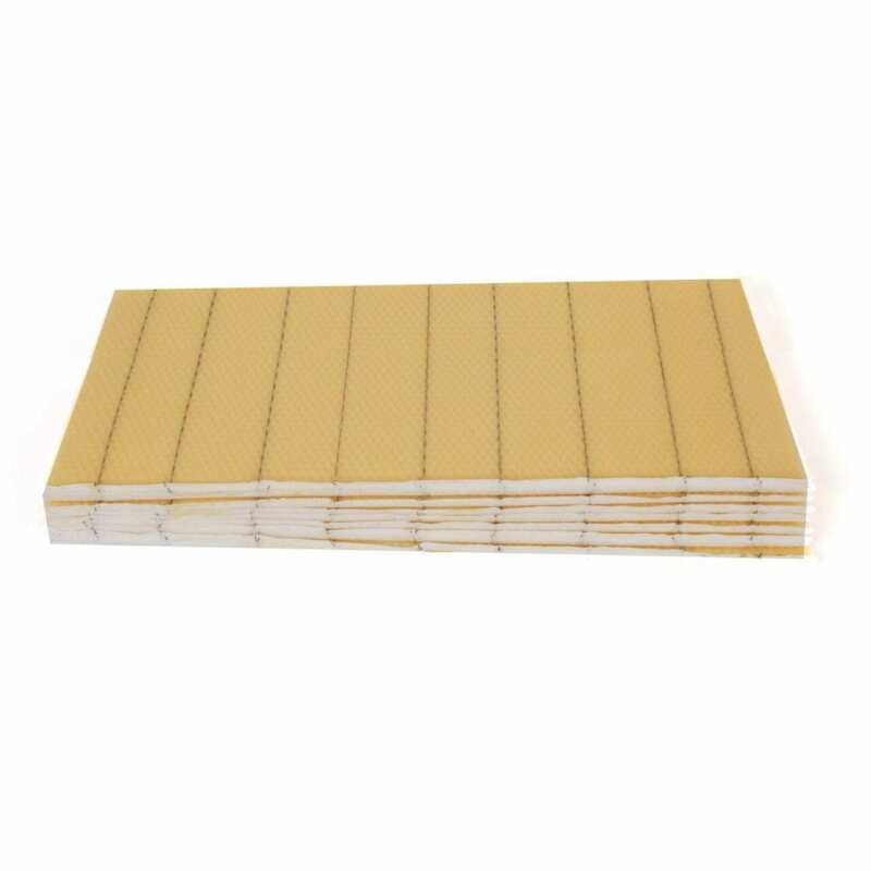 Deep Crimp Wire Beeswax Foundation 10 Sheets