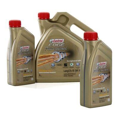 CASTROL EDGE Professional Motoröl Öl TITANIUM FST LongLife III 5W-30 - 6 Liter ()