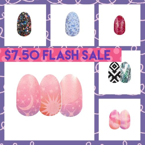 COLOR STREET NAIL STRIPS:*** $7.50 SUNDAY FLASH SALE!***