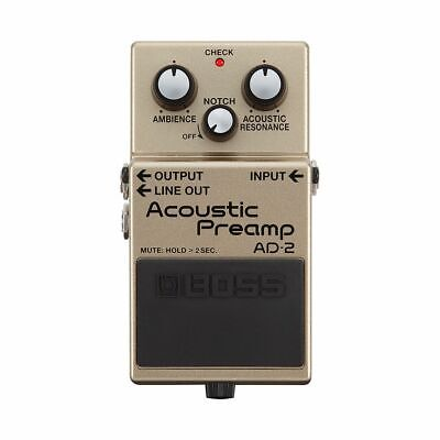 BOSS AD-2 Acoustic Preamp -