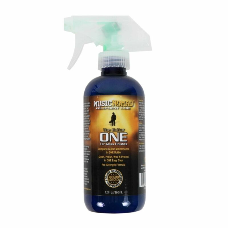 Music Nomad The Guitar One All in 1 Cleaner, Polish & Wax Tech Size
