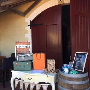 Vintage Suitcases / Wedding Props / Wishing Well Brisbane Region Preview
