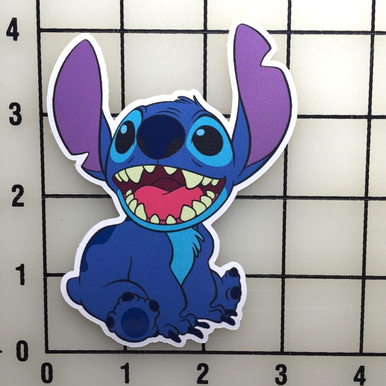 "Stitch 4"" Tall Color Vinyl Decal Sticker - BOGO"