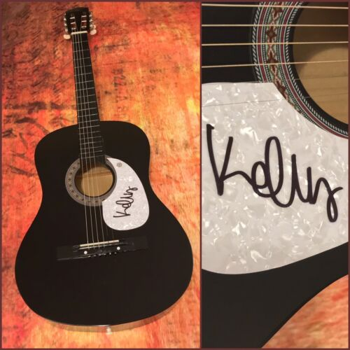 **gfa The Fall *brendan James* Signed Acoustic Pickguard B1 Coa Proof** Guitar & Guitar Picks
