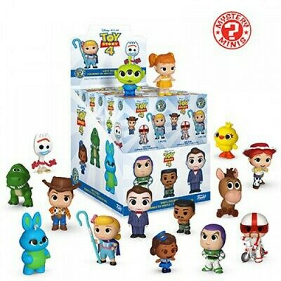 Funko MYSTERY MINIS TOY STORY 4 Woody, Buzz, Jess, Rex, Bo Peep, Forky, and more ()