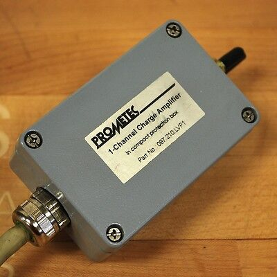 Prometec 097.210.lvp1 1-channel Charge Amplifier In Compact Protection Box