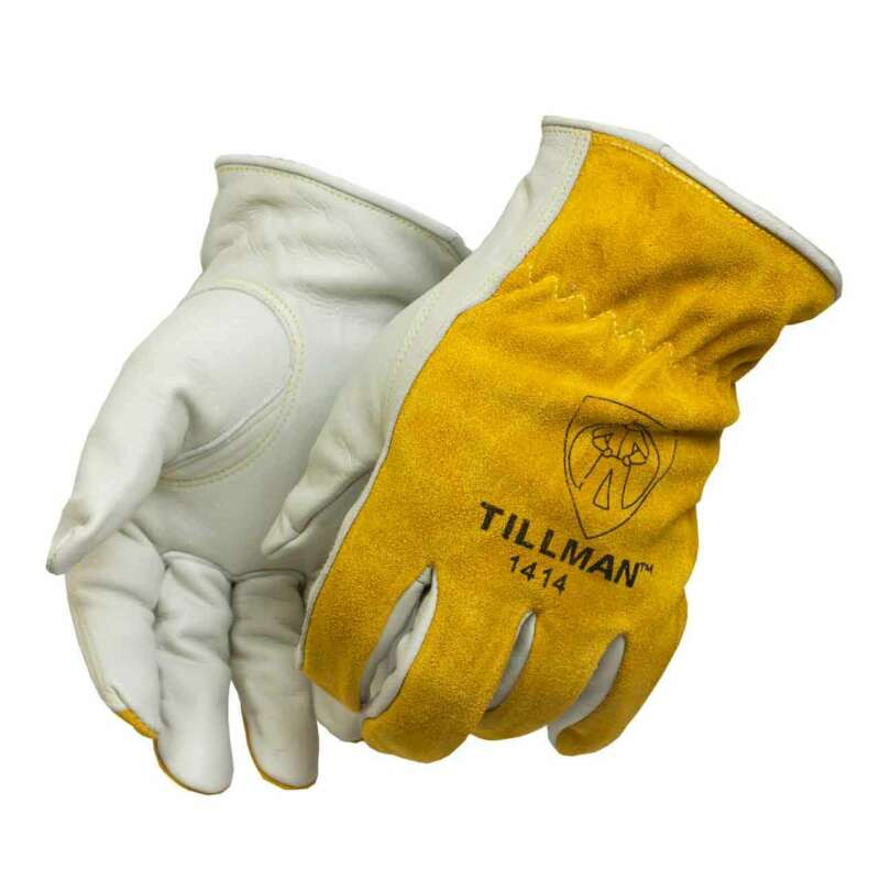 Tillman 1414 Top Grain/Split Cowhide Drivers Gloves Large