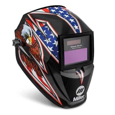 Miller 287820 Classic Series Welding Helmet With Clearlight Lens Liberty