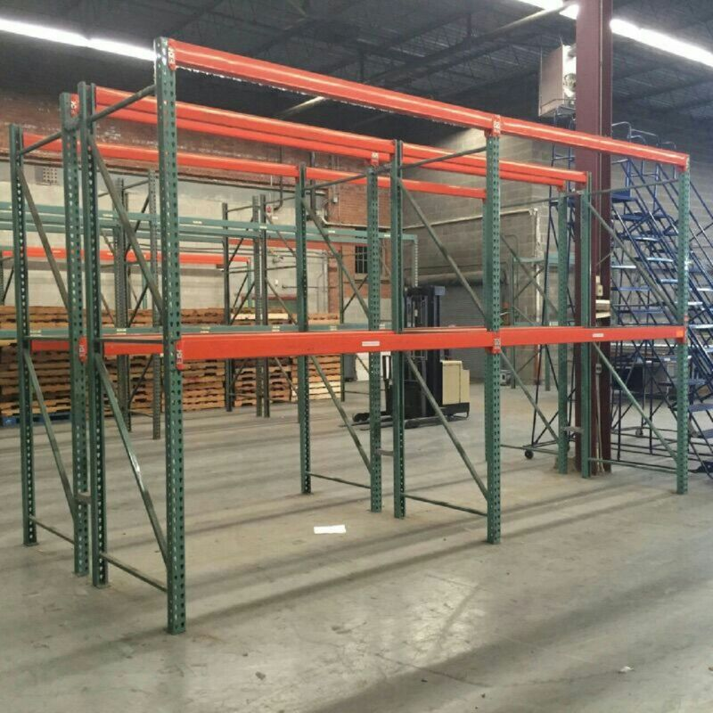 Teardrop  Pallet Racking Starter Bundle Free wire decking!!!