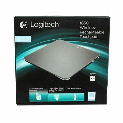BRAND NEW RARE LOGITECH TOUCHPAD T650 MOUSE PAD WIRELESS RECHARGEABLE segunda mano  Embacar hacia Mexico