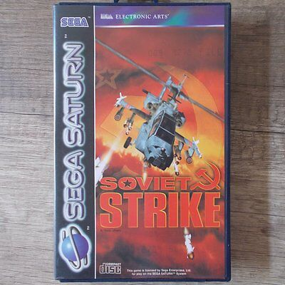 Sega Saturn ► Soviet Strike ◄ komplett in OVP | TOP | USK 18 online kaufen
