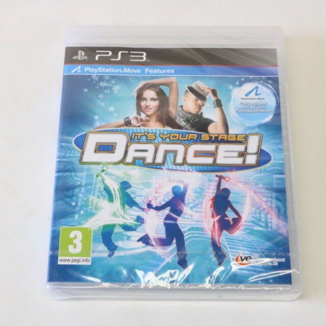 IT'S YOUR STAGE DANCE - SONY PLAYSTATION 3 PS3 GAME - NEW & SEALED