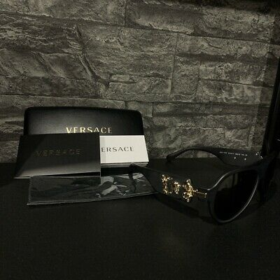 Versace Sunglasses Matt Black