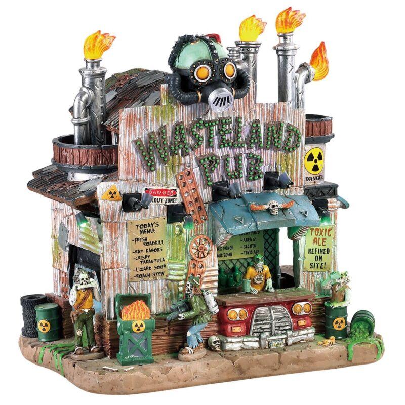 Lemax Spooky Town Wasteland Pub #83505 ~ NEW MINT ~ Halloween Apocalypse Creepy