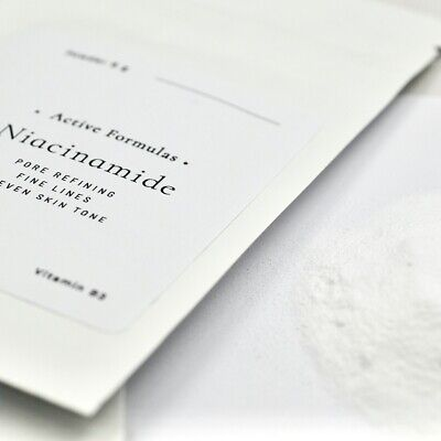 Niacinamide Vitamin B3 Powder, Anti-ageing, Pore Refining, Skin Tone, Acne