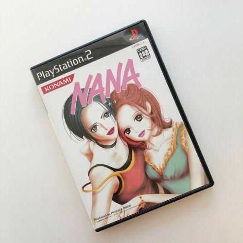 NANA Game Play Station 2 KONAMI by Ai YAZAWA simulates the world of NANA PS2