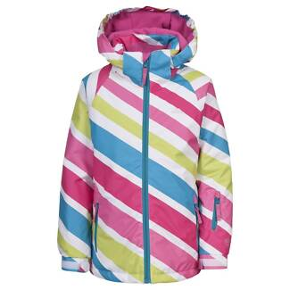 BRAND NEW Rainbow Coloured Girls Ski Jacket BNWT Size 5-6 Years Manly Manly Area Preview