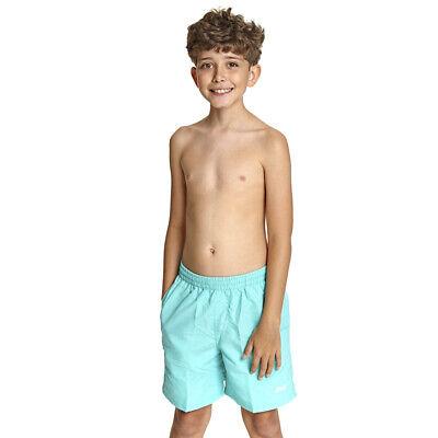 "Zoggs Boys Penrith Jade Board Swim Shorts Age 8-9 10-11 12-13 14-15 15"" Trunks"
