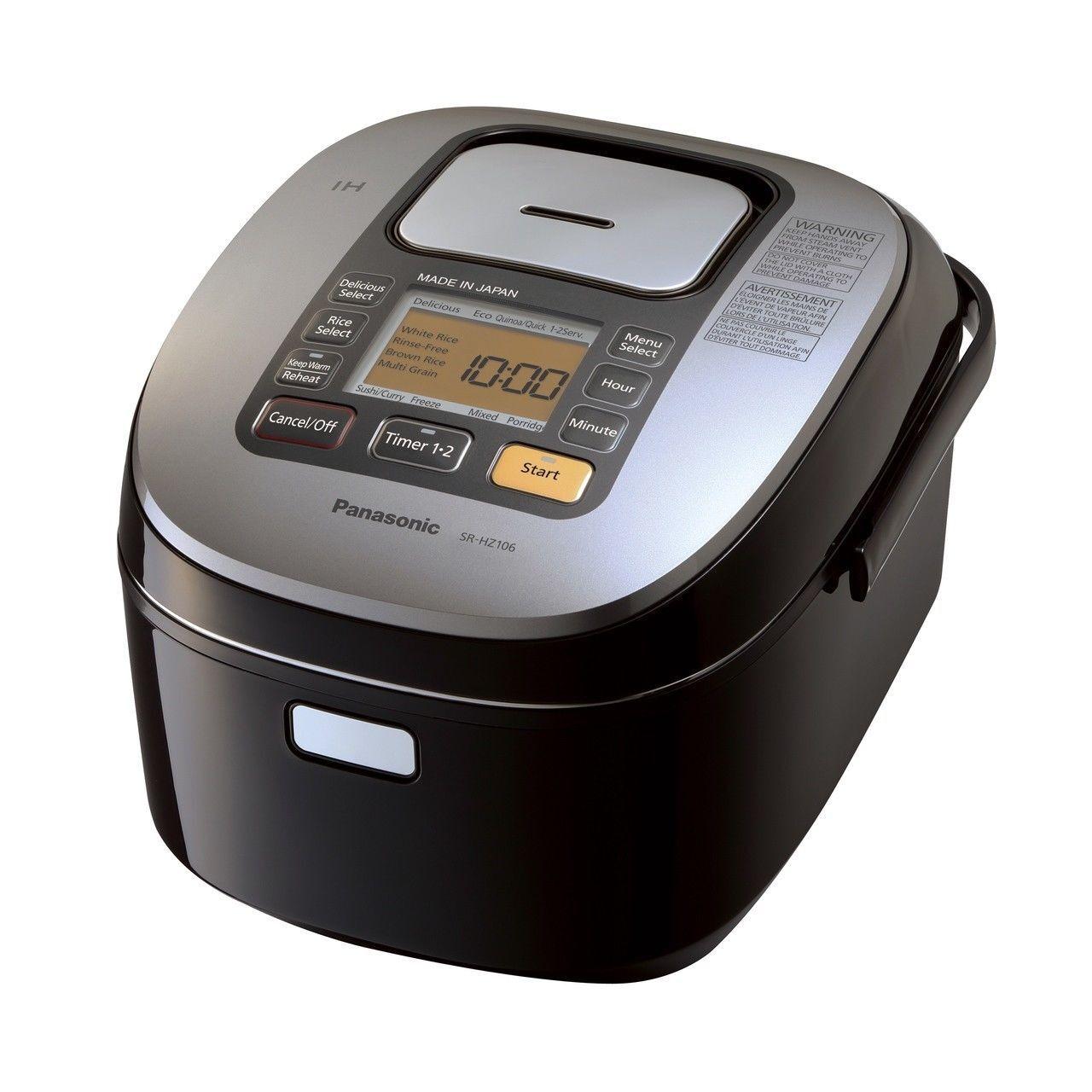 Panasonic Rice Cooker |SRHZ106K| 5.5-cup, multi-function wit