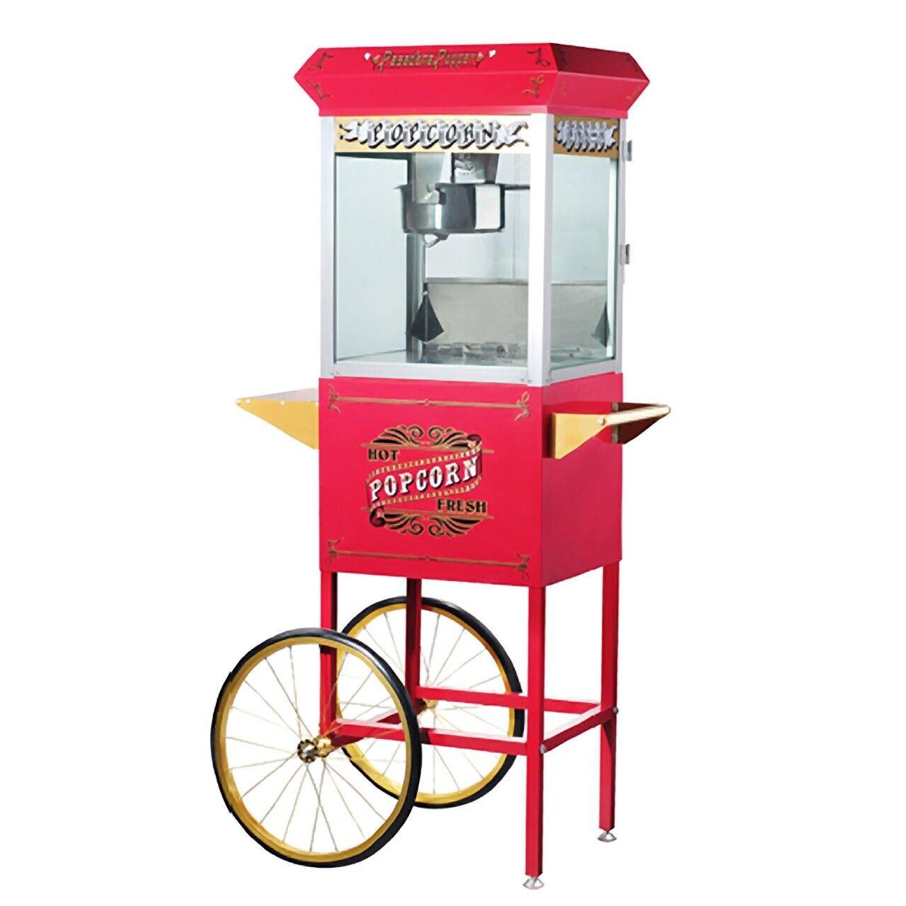 6040 Great Northern Pasadena Popcorn Popper Machine with Car