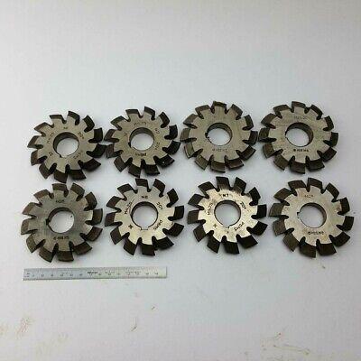 Involute Gear Cutter Set M4.25 Pa20 Hss 1-8 Bevel Spline Modulfrser Satz