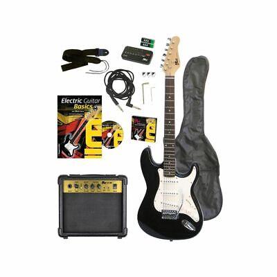 Voggenreiter EG100 Guitarra Eléctrica- Set Incl. Amplificador y Accesorio