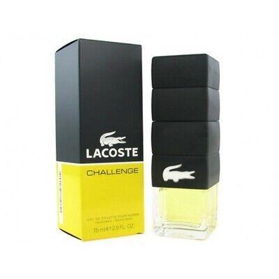 Lacoste Challenge M 3.0oz / 90ml EDT Spray New In Box