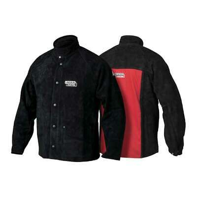 Lincoln Electric K2989 Heavy Duty Leather Welding Jacket X-large