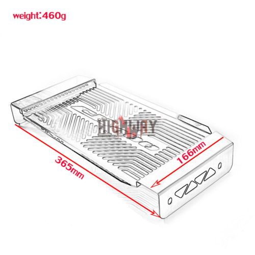 Radiator Cover Grille Cooling Guards Protector for HONDA