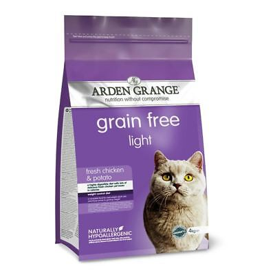 Arden Grange Adult Light Dry Cat Food 4kg