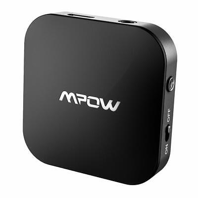 Mpow Wireless Bluetooth 5.0 Transmitter for TV with APTX Aux 3.5mm Audio Adapter