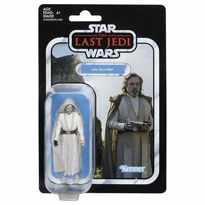 "NIB NEW Star Wars The Vintage Collection Luke Skywalker 3.75"" Jedi Master Figure"