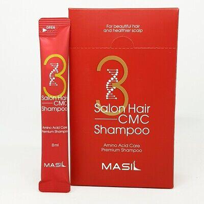 MASIL 3 Salon Hair CMC Shampoo 8ml x 20ea Hair Damage Scalp Care Smooth K-Beauty