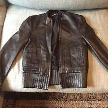 Sabatini Leather Jacket - As New Double Bay Eastern Suburbs Preview