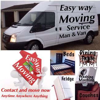 Cheap Movers & Removals/House Or Single item/Man & Van Removalist