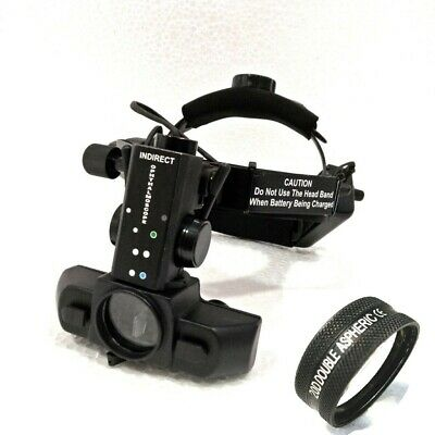 Free Shipping Indirect Ophthalmoscope With 20 D Lens Case With Accessories