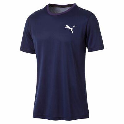 06 Tee (PUMA Herren Active Tee T-Shirt DryCELL Men 851702 06 blau )