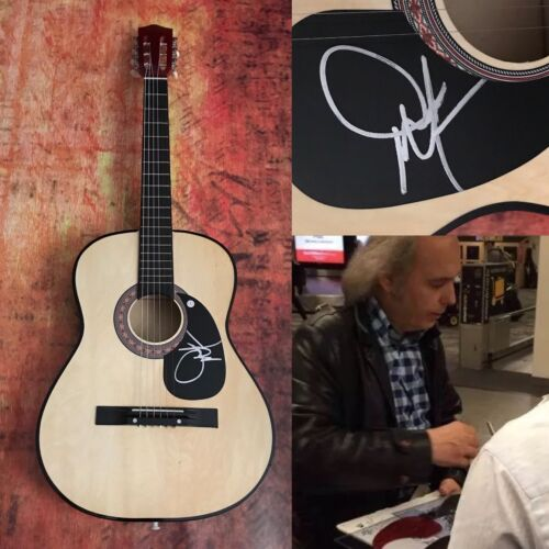 GFA Guitars, Cadillacs * DWIGHT YOAKAM * Signed Acoustic Guitar PROOF AD1 COA