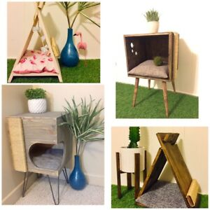 Cat Houses and Teepees