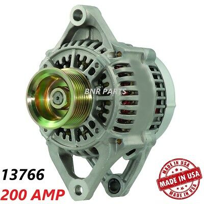 200 AMP 13766 Alternator Dodge Ram 2500 3500 Diesel 5.9L High Output HD NEW