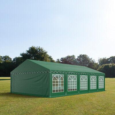Partyzelt 5x10m Festzelt Gartenzelt Pavillon Bierzelt wasserdicht PVC grün NEU online kaufen